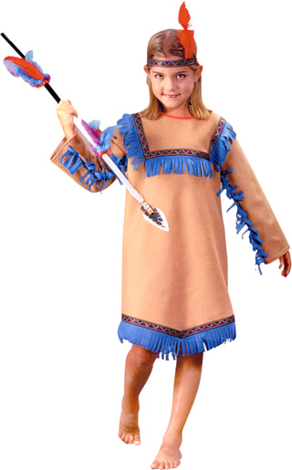 Child's Native Indian Girl Costume