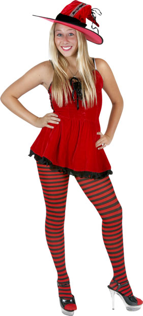 Teen Red Hot Witch Costume