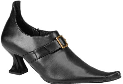 Women's Top Buckle Witch Shoes