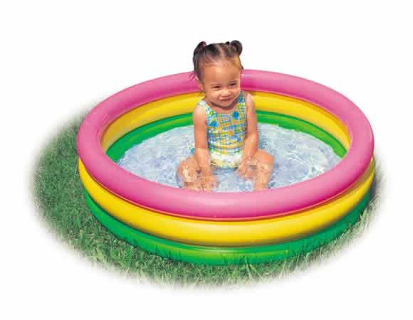 3 Ring Inflatable Baby Pool