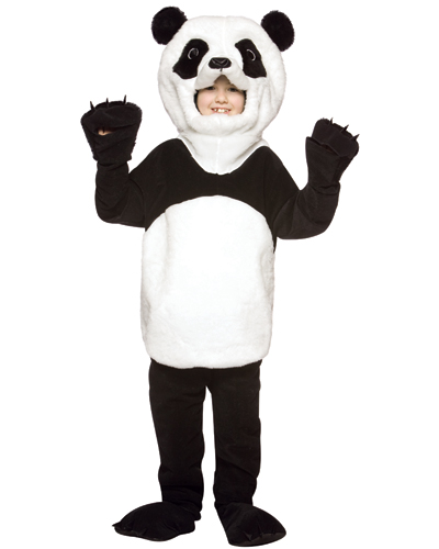 Child's Deluxe Panda Bear Costume