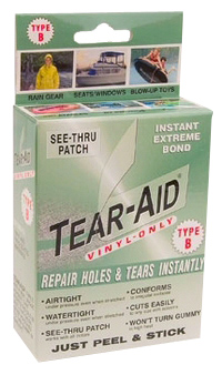 Tear-Aid Type B Vinyl Repair and Patch Kit