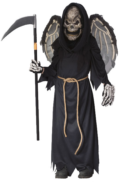 Child's Winged Reaper Costume
