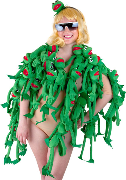 Adult Lady Frog Costume