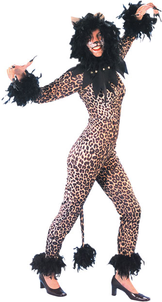 Adult Leopard Cats Musical Costume
