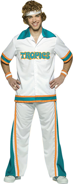 Adult Jackie Moon Warm Up Suit Costume