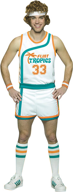 Adult Jackie Moon Flint Tropics Uniform Costume