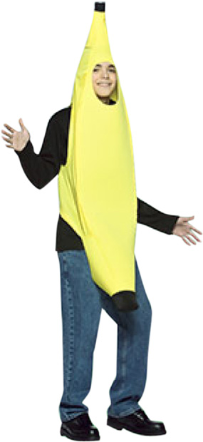 Teen LW Banana Costume