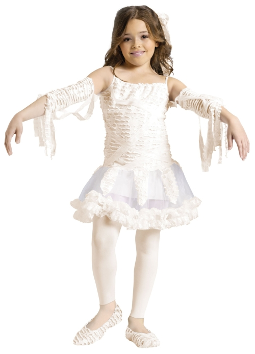 Girl's  Cute Mummy Tutu Costume