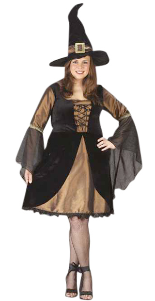 Plus Size Sexy Sweet Witch Costume
