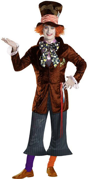 Adult Mad Hatter Movie Costume