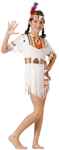 Child's Indian Bride Costume