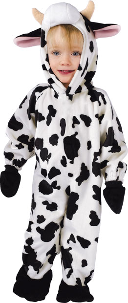 Infant Cuddly Cow Costume