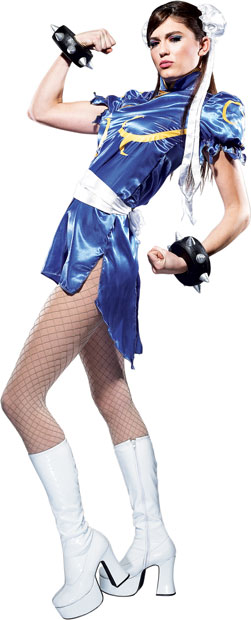 Adult Street Fighter Chun Li Costume