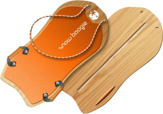 Snow Boogie 36 Inch Woody Snow Sled