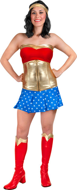 Adult Sexy Wonder Woman Costume