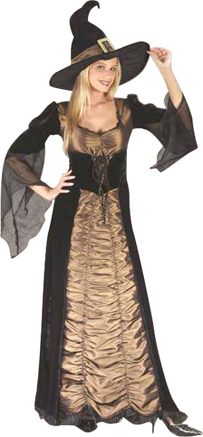 Adult Elegant Coffin Witch Costume