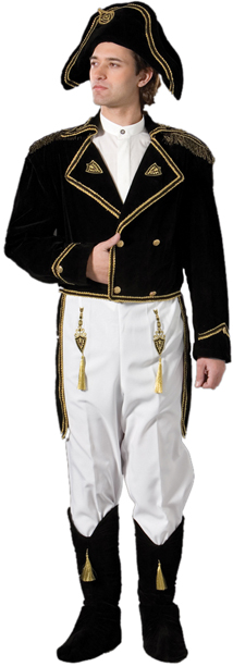 Adult Authentic Napoleon Costume