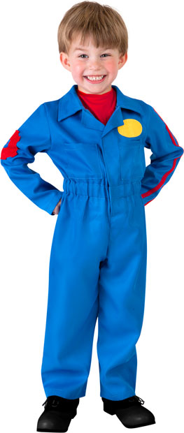 Child's Blue Movers Costume
