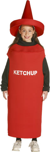 Child's Ketchup Costume