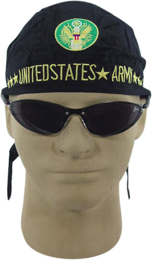 Embroidered US Army Skull Cap