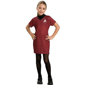Child's Star Trek Deluxe Red Dress Costume