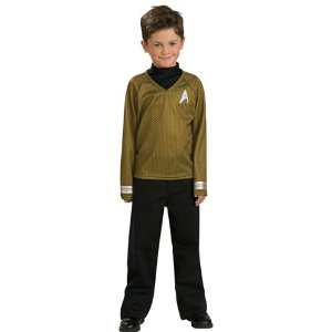 Child's Star Trek Gold Shirt Costume
