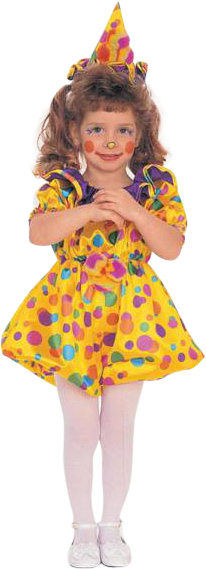 Child's Cuddles The Clown Costume