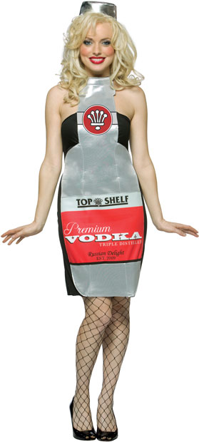 Adult Sexy Vodka Bottle Costume