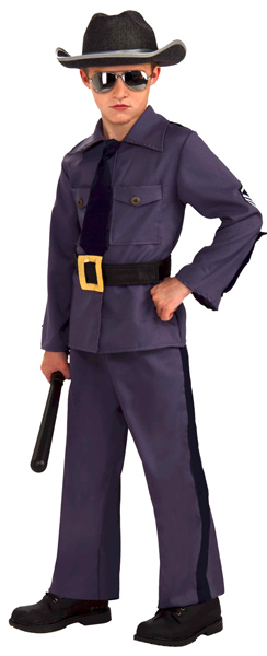 Child's State Trooper Uniform Costume