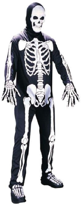 Adult Scary Skeleton Costume