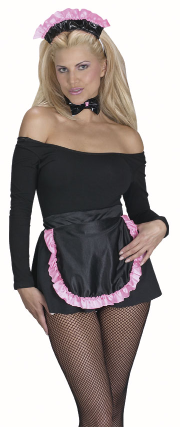 Adult French Maid Easy Costume Kit