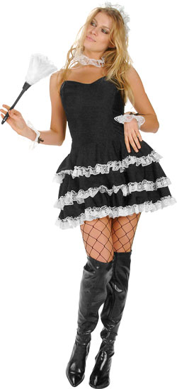 Sexy Lacey French Maid Costume