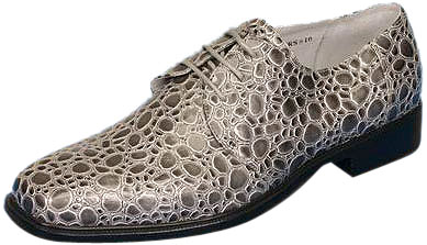 Men's Grey Pimp Shoes