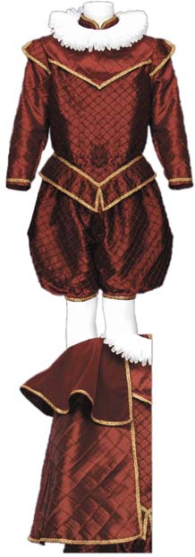 Deluxe Men's Shakespeare Costume