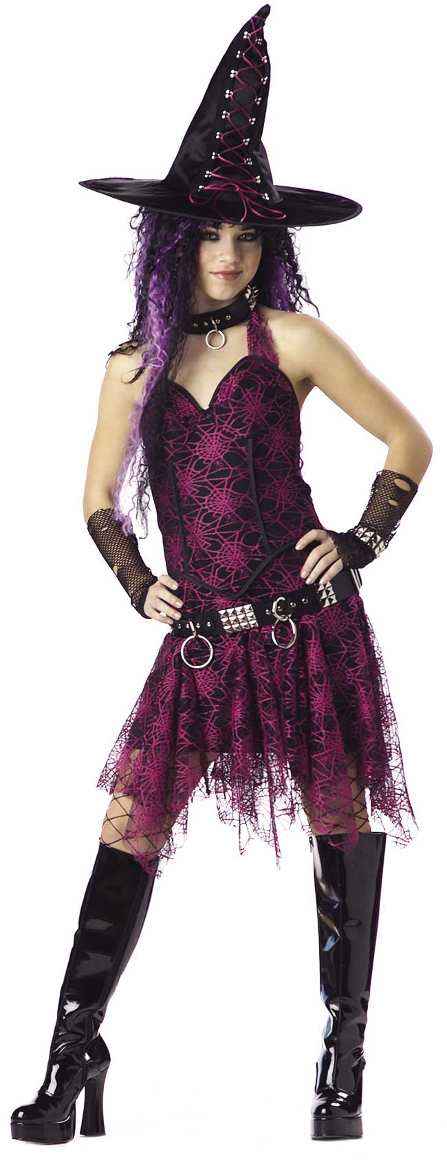 Teen Gothic Witch Costume