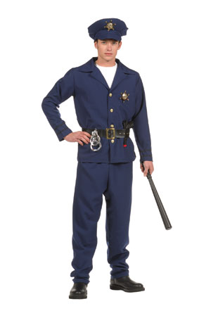 Teen Police Officer Costume