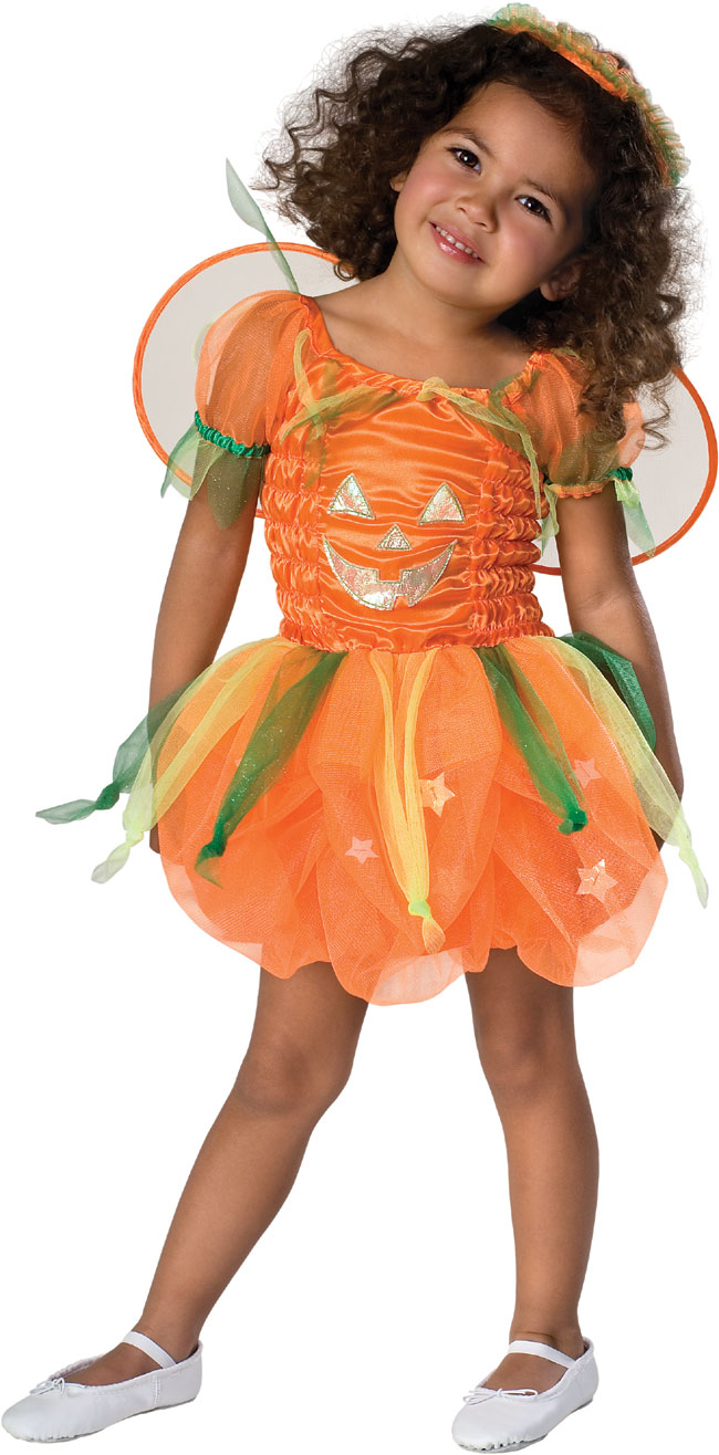 Toddler Pumpkin Pie Fairy Costume