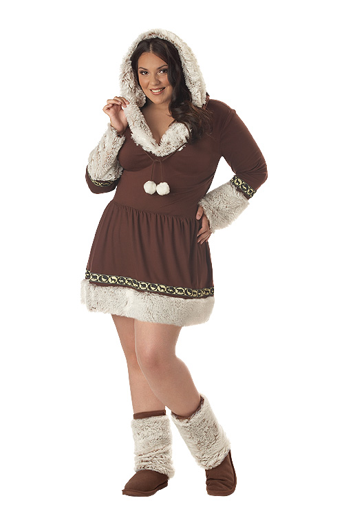 Plus Size Eskimo Costume