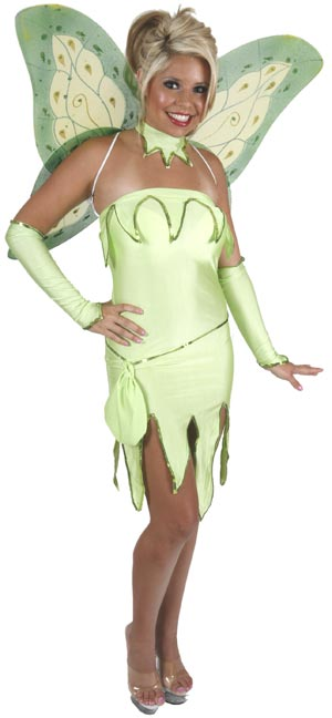 Sexy Emerald Fairy Costume