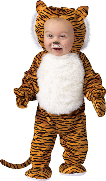 Toddler Cute Tiger Costume