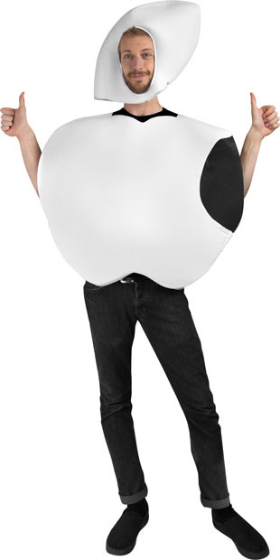 Adult White Apple Costume