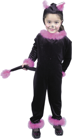 Toddler Pink Cat Costume