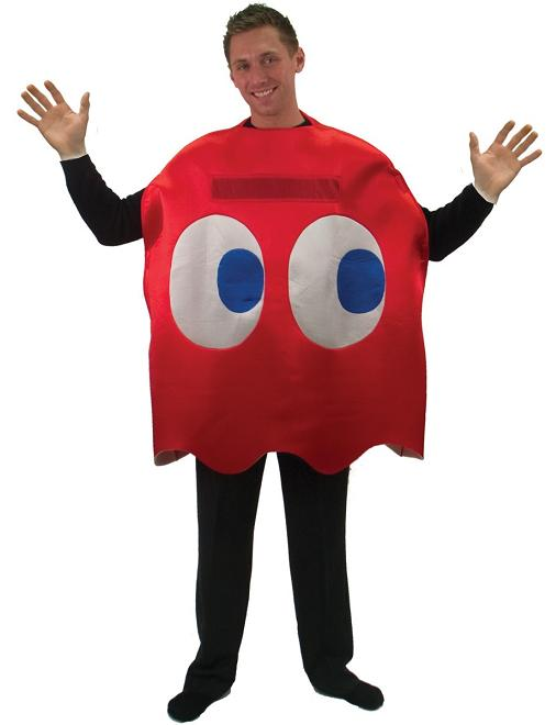 "Adult Pac-Man ""Blinky"" Red Ghost Deluxe Costume"