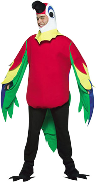 Adult LW Parrot Costume