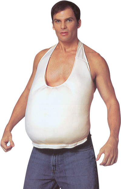 Big Fake Belly Costume Prop