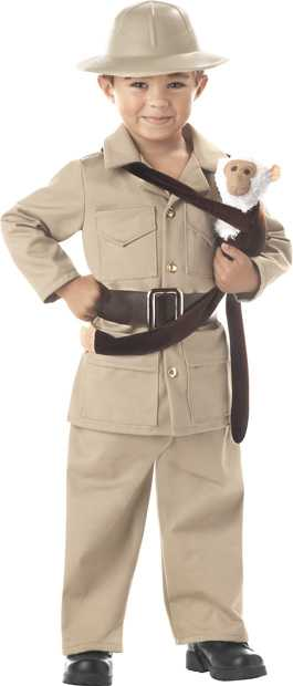 Child's Zoo Keeper Boy Costume