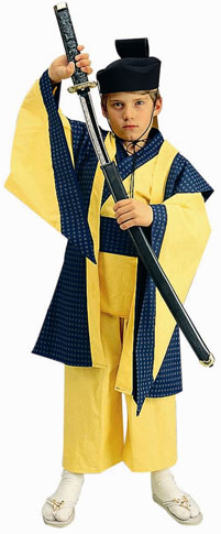 Child's Deluxe Samurai Costume
