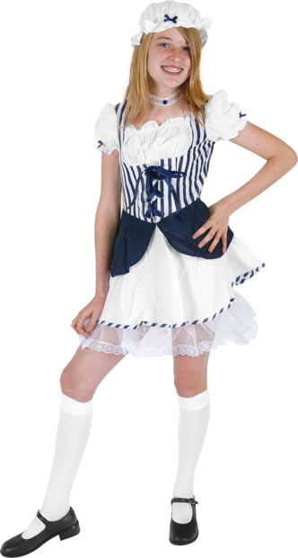 Preteen Blue Little Bo Peep Costume