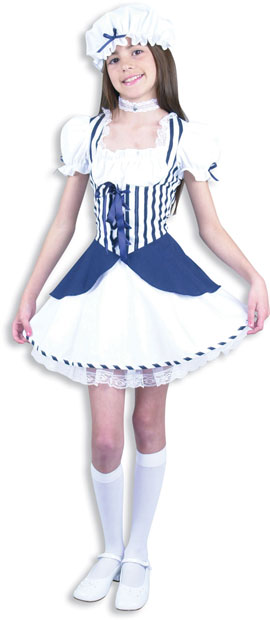 Child's Blue Little Bo Peep Costume